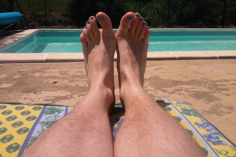 Behårede ben