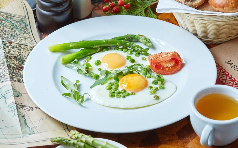 Hány kalória van egy sült tojásban, BJU, a sült tojás..