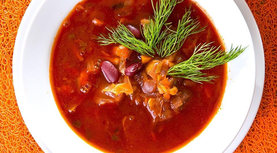 Bortsch aux haricots - 6 recettes sur la façon de cuire le bortsch pour le rendre très savoureux, incomparable