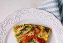 Omlete ar dārzeņiem cepeškrāsnī