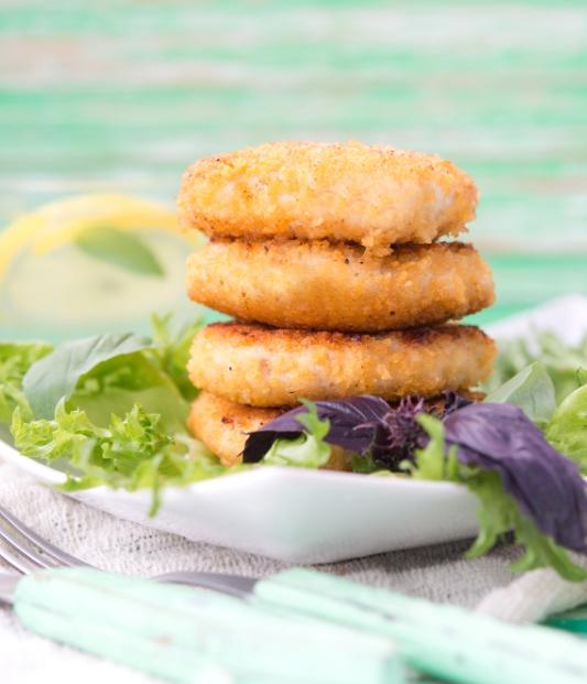 Escalopes de poulet à la semoule - une délicieuse recette