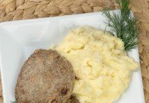 Konservēti saurijas kotleti - recepte