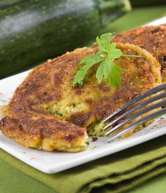 Pečené cuketové placičky - recept na zeleninové placičky