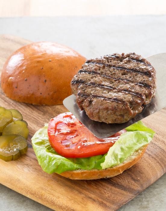 côtelette de hamburger