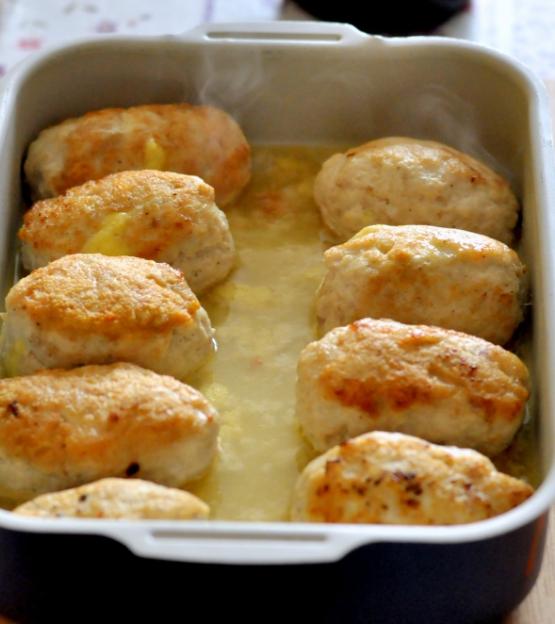 Comment faire cuire des escalopes de poulet hachées au four