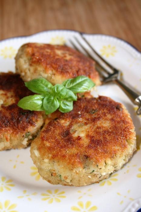 Bánh cá với khoai tây