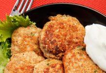 vistas kotletes ar kartupeļiem