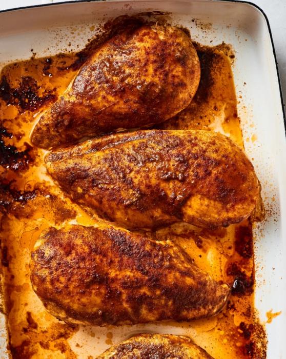 חזה עוף במרינדת עגבניות סויה