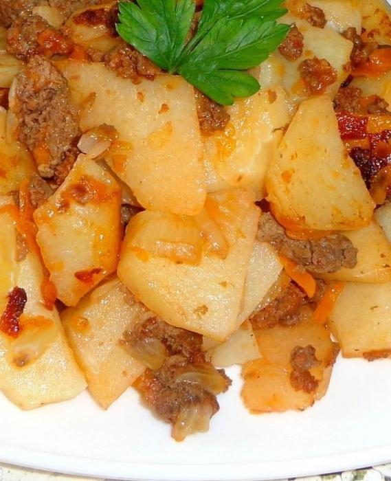 mleté brambory